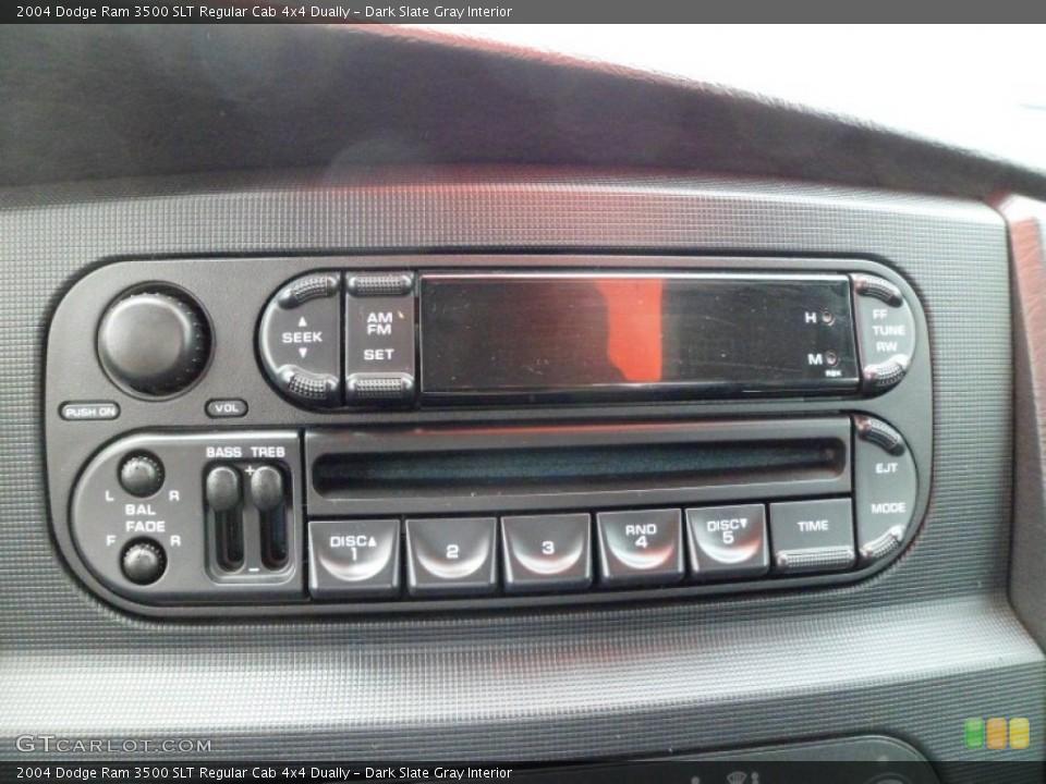 Dark Slate Gray Interior Audio System for the 2004 Dodge Ram 3500 SLT Regular Cab 4x4 Dually #63329393