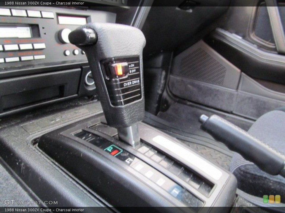 Charcoal Interior Transmission for the 1988 Nissan 300ZX Coupe