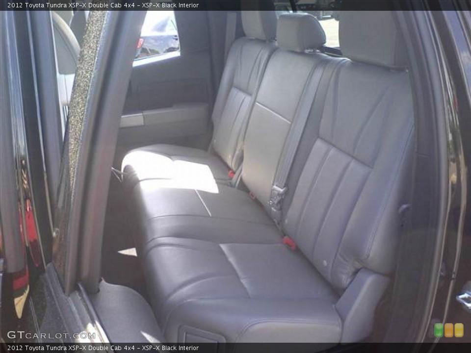 XSP-X Black 2012 Toyota Tundra Interiors