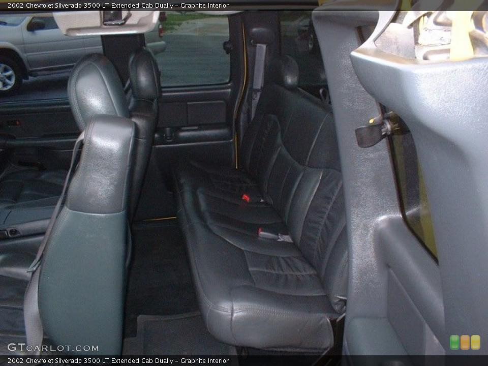 Graphite 2002 Chevrolet Silverado 3500 Interiors