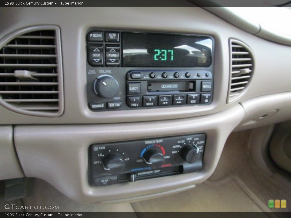 Taupe Interior Controls for the 1999 Buick Century Custom #63879690