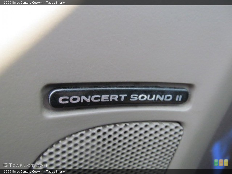Taupe Interior Audio System for the 1999 Buick Century Custom #63879716