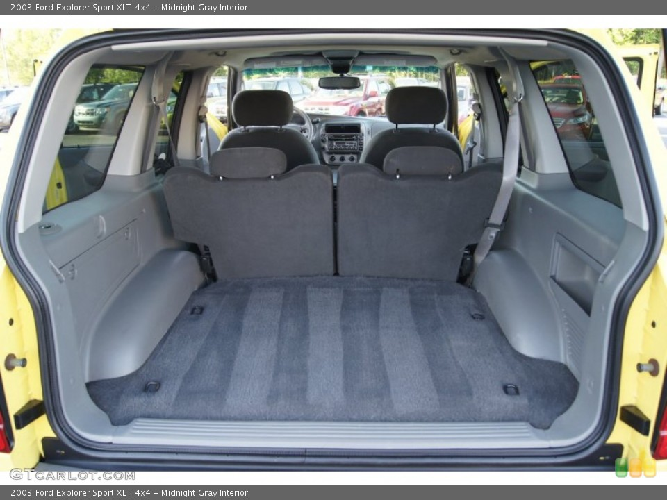 Midnight Gray Interior Trunk for the 2003 Ford Explorer Sport XLT 4x4 #64296340
