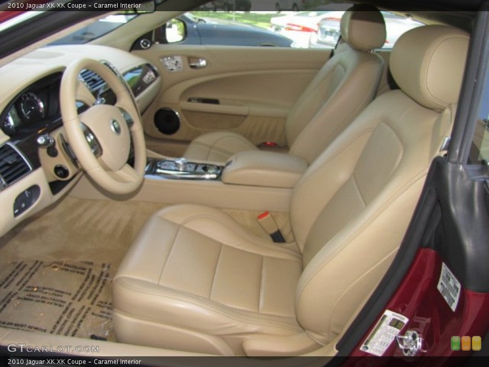 Caramel Interior Photo for the 2010 Jaguar XK XK Coupe #64347523