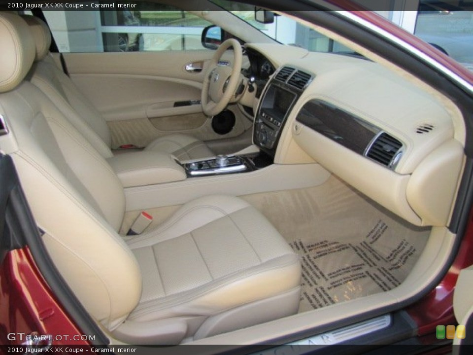 Caramel Interior Photo for the 2010 Jaguar XK XK Coupe #64347529