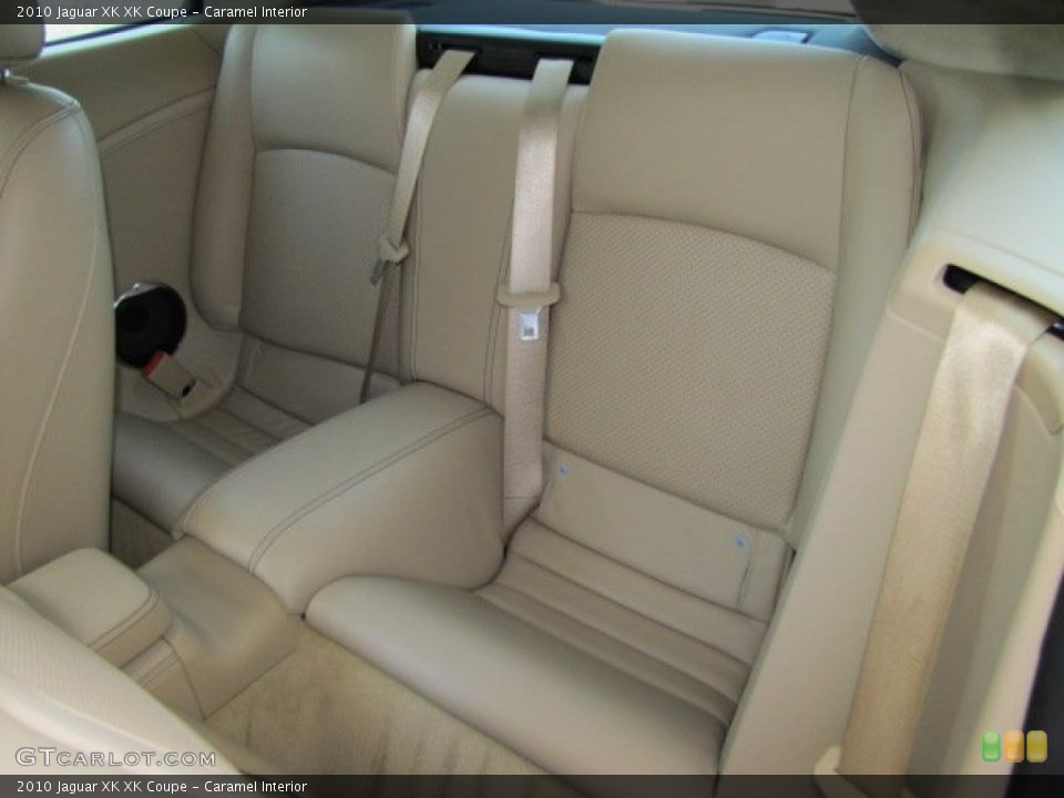 Caramel Interior Rear Seat for the 2010 Jaguar XK XK Coupe #64347616