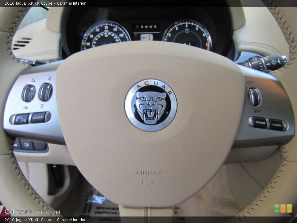 Caramel Interior Steering Wheel for the 2010 Jaguar XK XK Coupe #64347622
