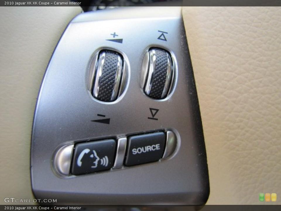 Caramel Interior Controls for the 2010 Jaguar XK XK Coupe #64347628