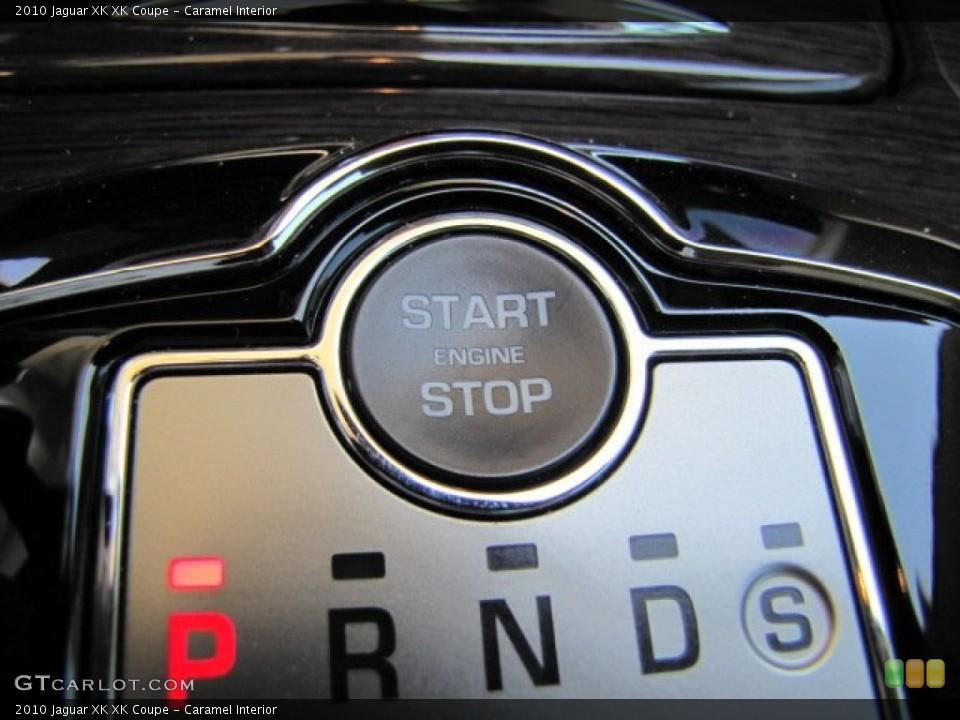 Caramel Interior Controls for the 2010 Jaguar XK XK Coupe #64347676