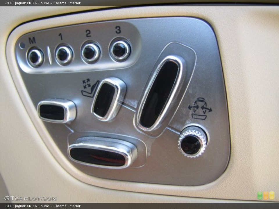 Caramel Interior Controls for the 2010 Jaguar XK XK Coupe #64347718
