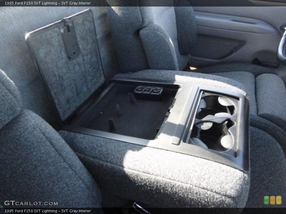 SVT Gray 1995 Ford F150 Interiors