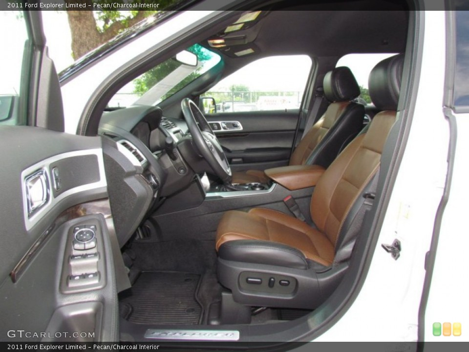 Pecan/Charcoal Interior Photo for the 2011 Ford Explorer Limited #64726626