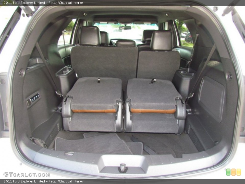 Pecan/Charcoal Interior Trunk for the 2011 Ford Explorer Limited #64726743