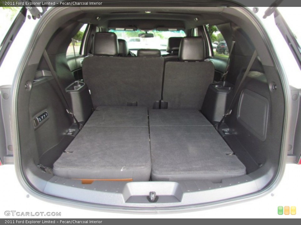 Pecan/Charcoal Interior Trunk for the 2011 Ford Explorer Limited #64726752