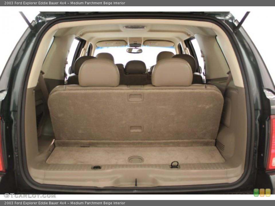 Medium Parchment Beige Interior Trunk for the 2003 Ford Explorer Eddie Bauer 4x4 #64810595