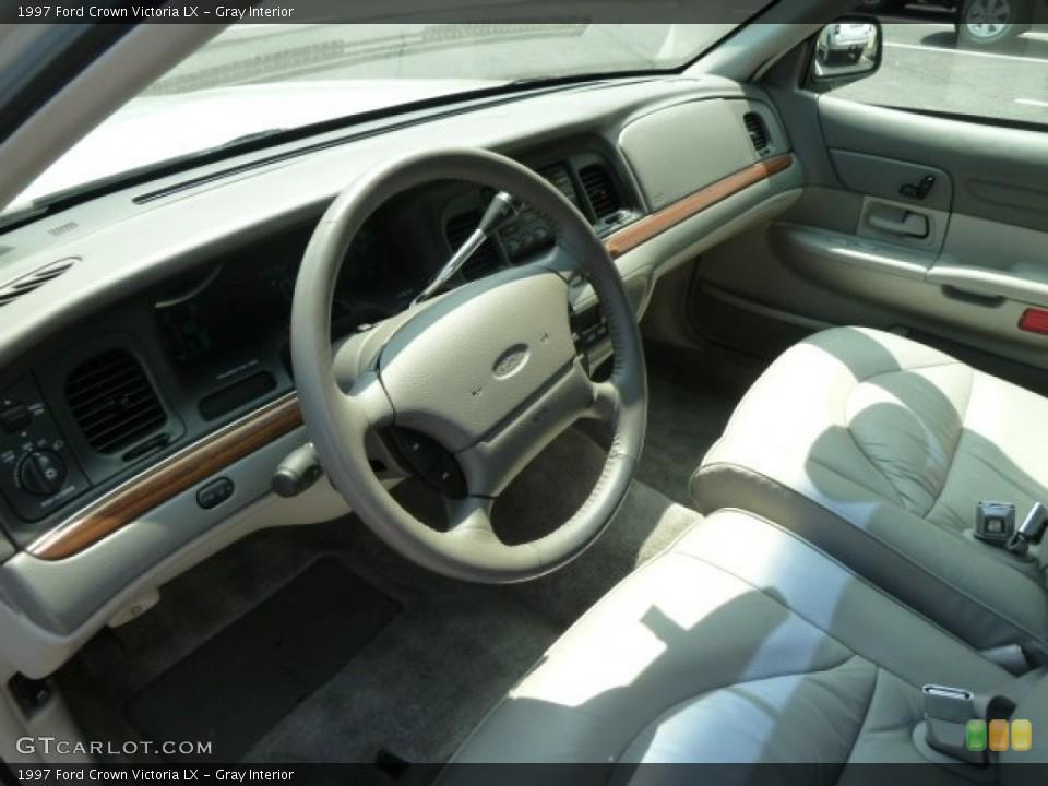 gray interior steering wheel for the 1997 ford crown victoria lx 64886576 gtcarlot com gtcarlot com