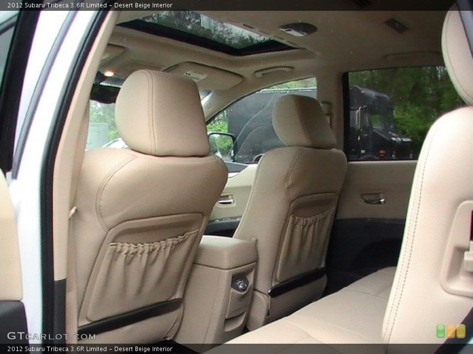 Desert Beige Interior Photo for the 2012 Subaru Tribeca 3.6R Limited #65010960