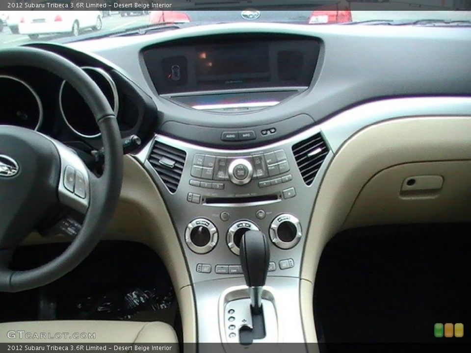 Desert Beige Interior Controls for the 2012 Subaru Tribeca 3.6R Limited #65010966