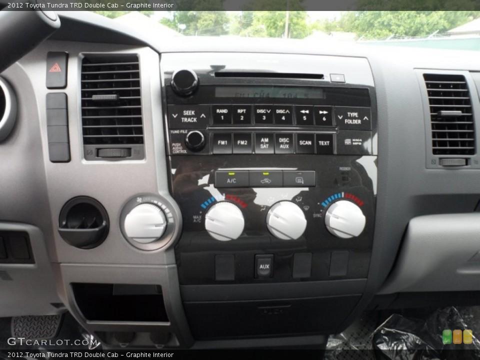 Graphite Interior Controls for the 2012 Toyota Tundra TRD Double Cab #65034601