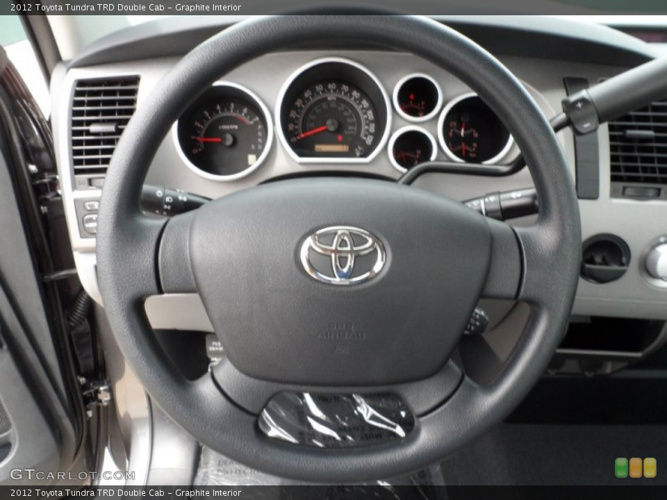 Graphite Interior Steering Wheel for the 2012 Toyota Tundra TRD Double Cab #65034616