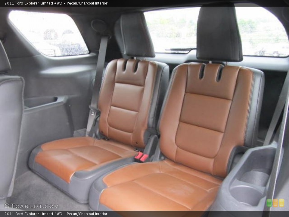 Pecan/Charcoal Interior Rear Seat for the 2011 Ford Explorer Limited 4WD #65148594