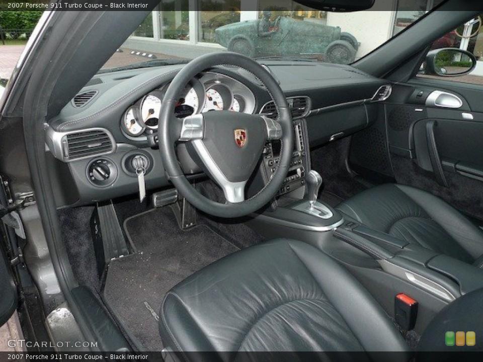 Black Interior Photo for the 2007 Porsche 911 Turbo Coupe #65167758