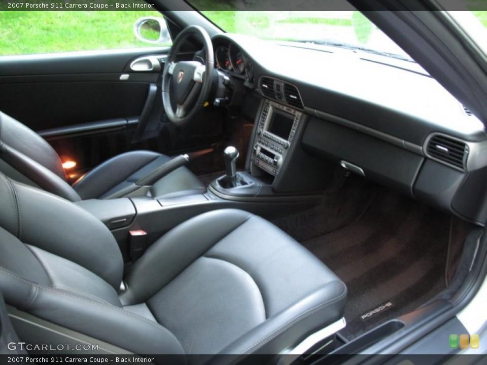 Black Interior Photo for the 2007 Porsche 911 Carrera Coupe #65325335