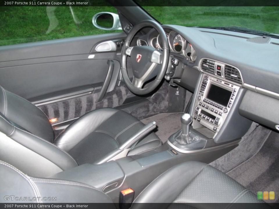 Black Interior Photo for the 2007 Porsche 911 Carrera Coupe #65325353