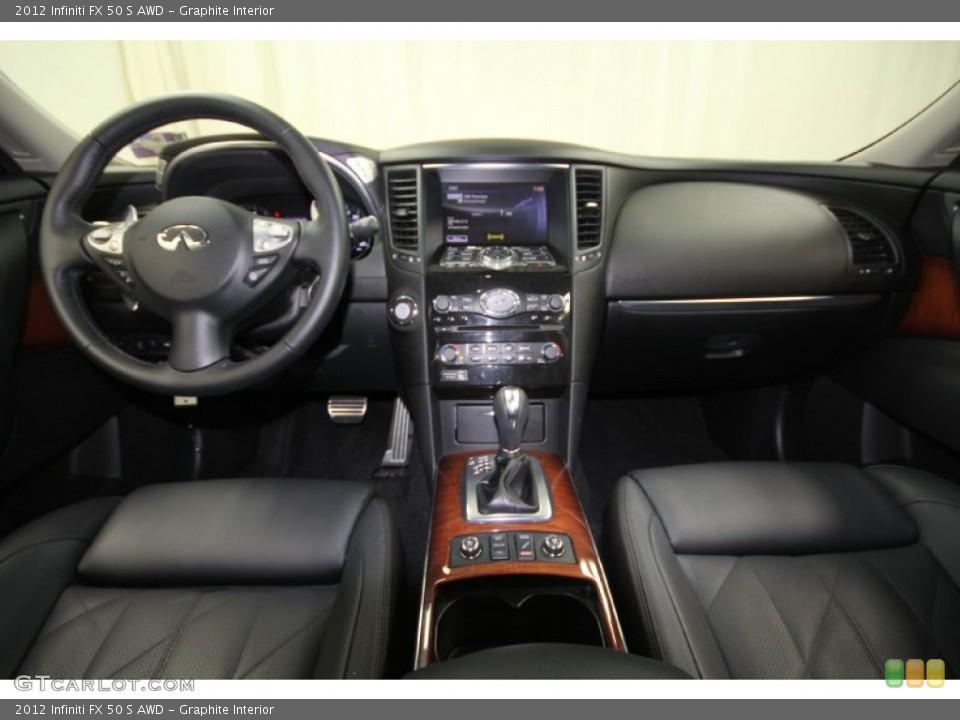 Graphite Interior Dashboard for the 2012 Infiniti FX 50 S AWD #65329046