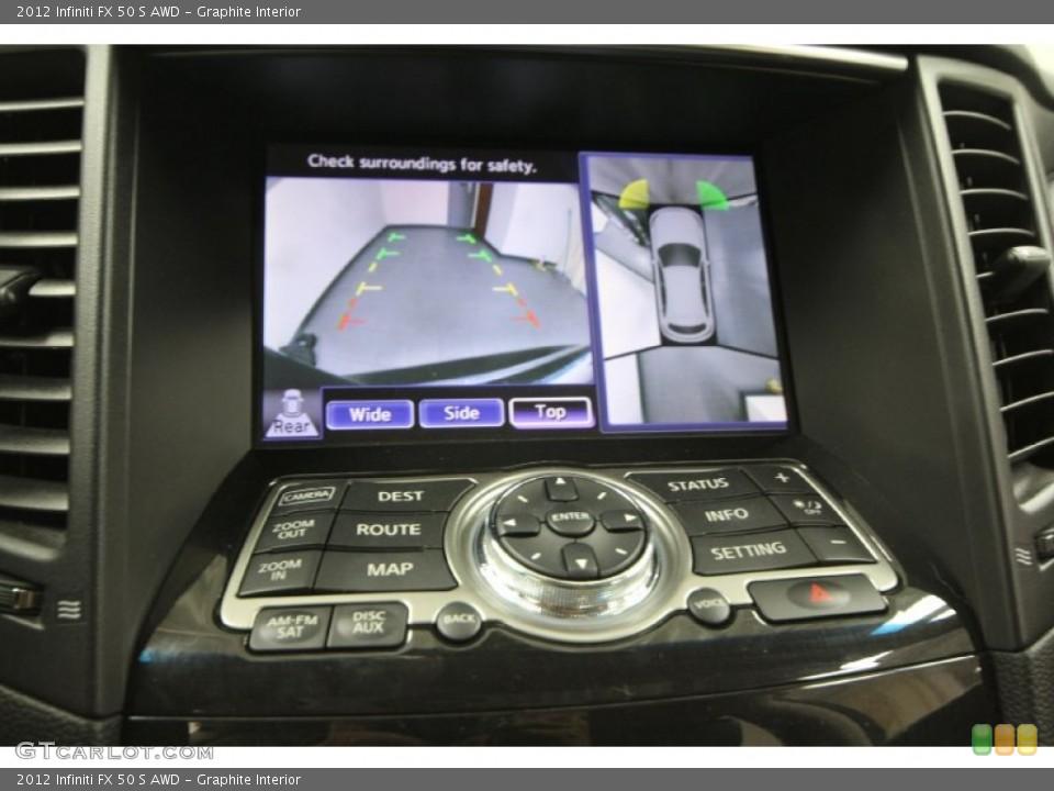 Graphite Interior Controls for the 2012 Infiniti FX 50 S AWD #65329355