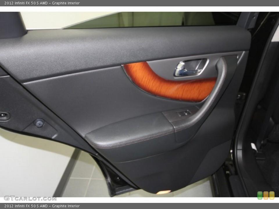 Graphite Interior Door Panel for the 2012 Infiniti FX 50 S AWD #65329484