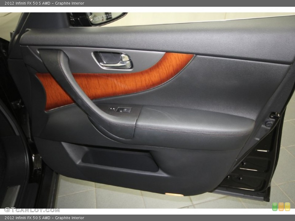 Graphite Interior Door Panel for the 2012 Infiniti FX 50 S AWD #65329610