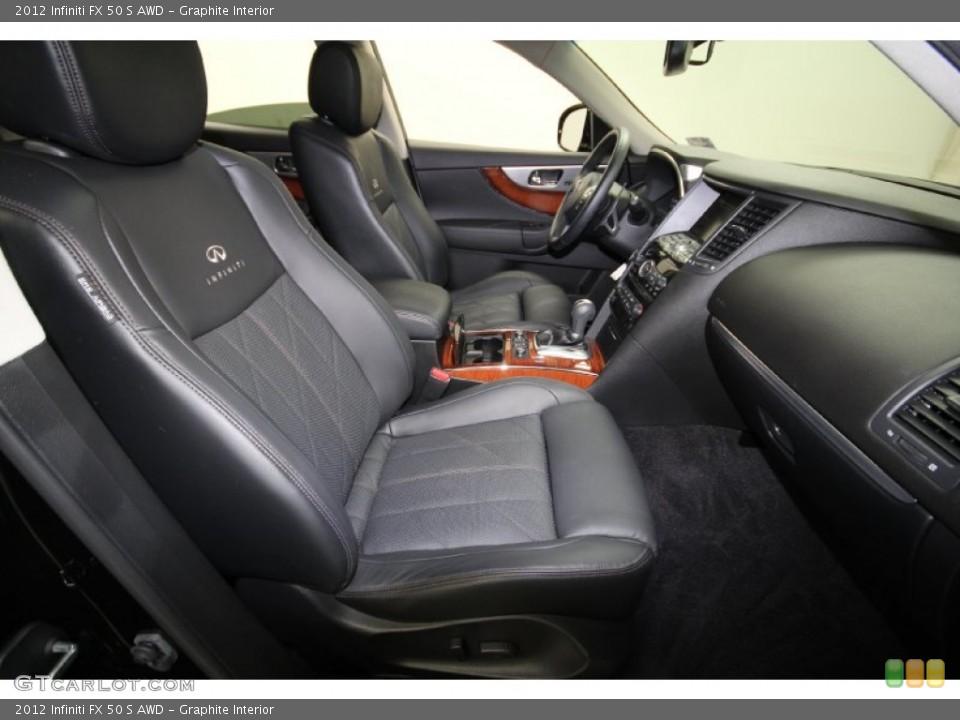 Graphite Interior Photo for the 2012 Infiniti FX 50 S AWD #65329628