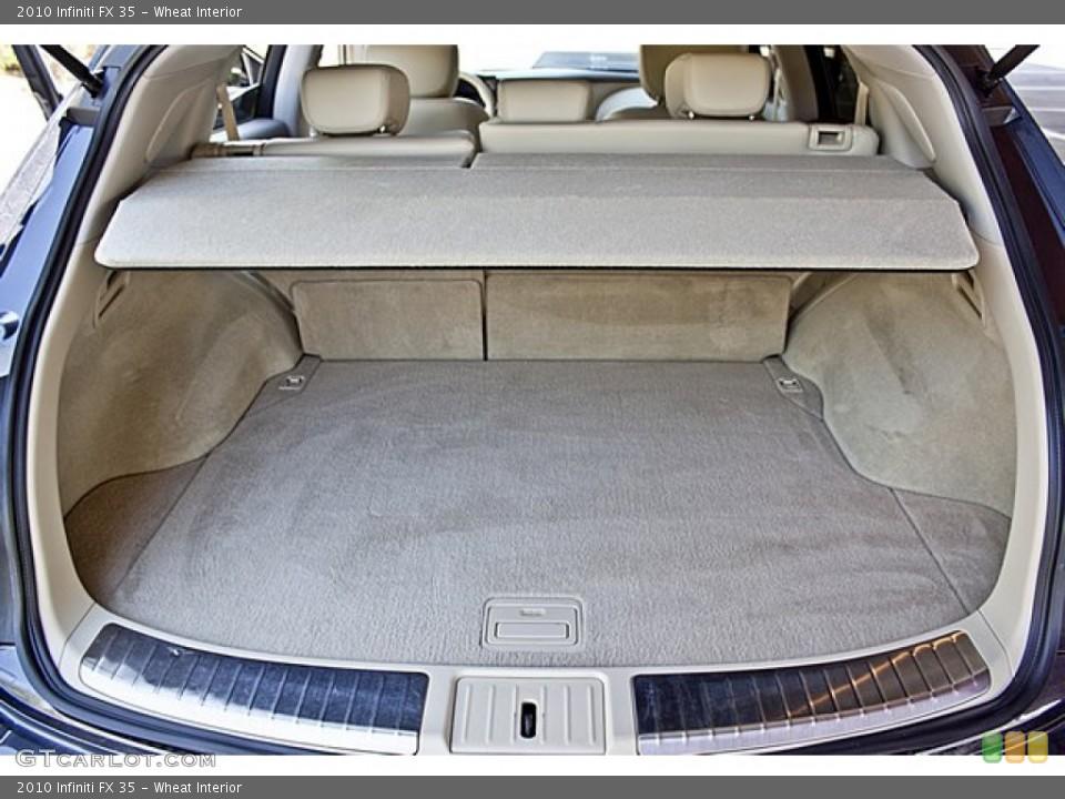 Wheat Interior Trunk for the 2010 Infiniti FX 35 #65501942