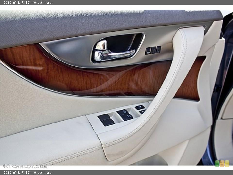 Wheat Interior Door Panel for the 2010 Infiniti FX 35 #65501978
