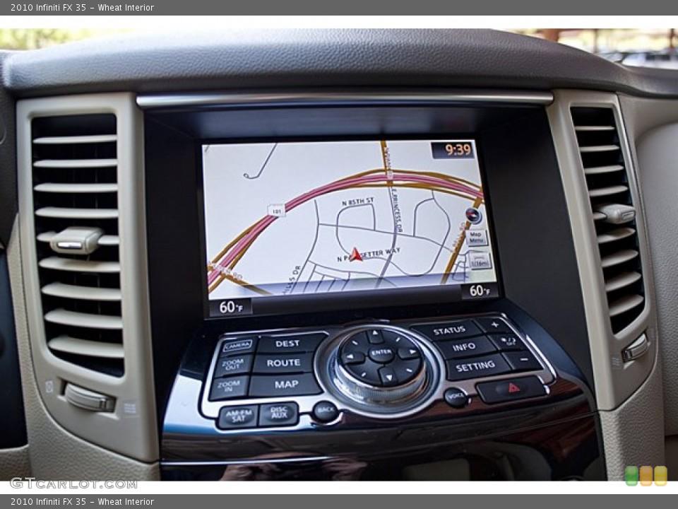 Wheat Interior Navigation for the 2010 Infiniti FX 35 #65502005