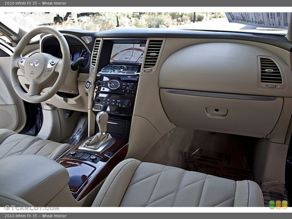Wheat Interior Dashboard for the 2010 Infiniti FX 35 #65502057