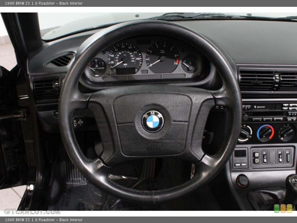 black interior steering wheel for the 1996 bmw z3 19 roadster 65511593 black interior 1996 bmw z3