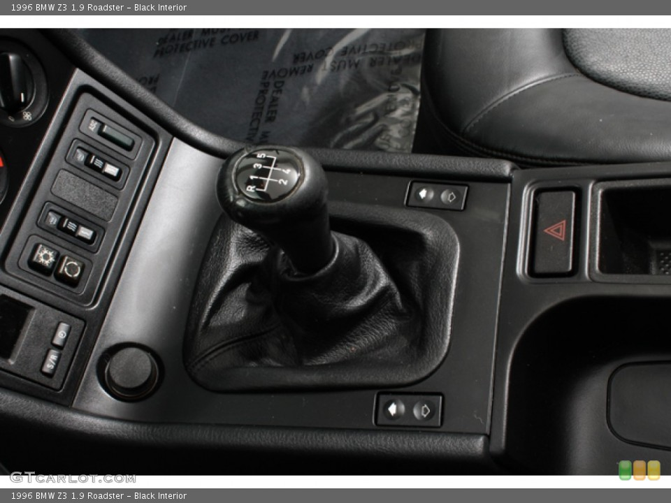 black interior transmission for the 1996 bmw z3 19 roadster 65511626 black interior 1996 bmw z3