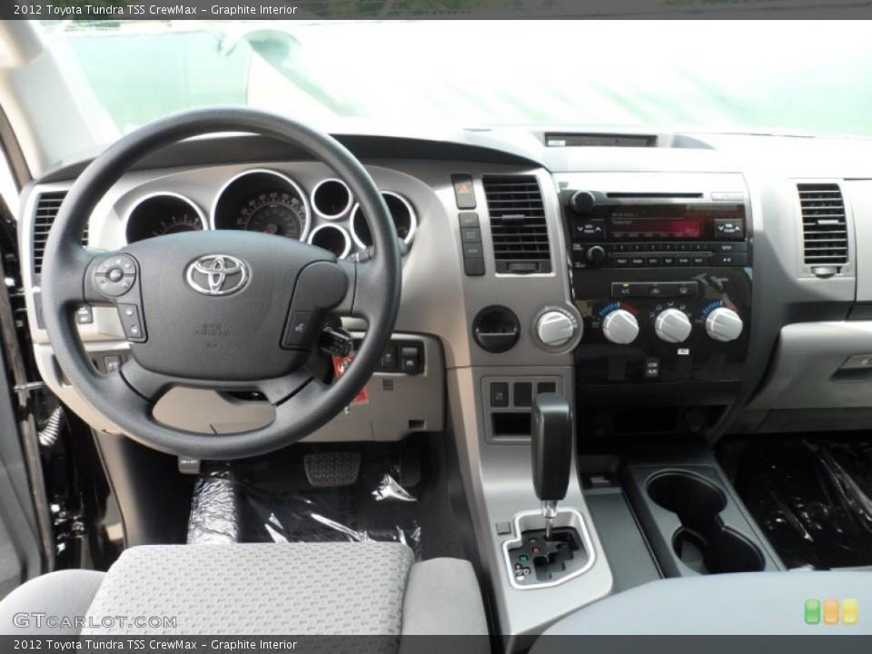 Graphite Interior Dashboard for the 2012 Toyota Tundra TSS CrewMax #65673763