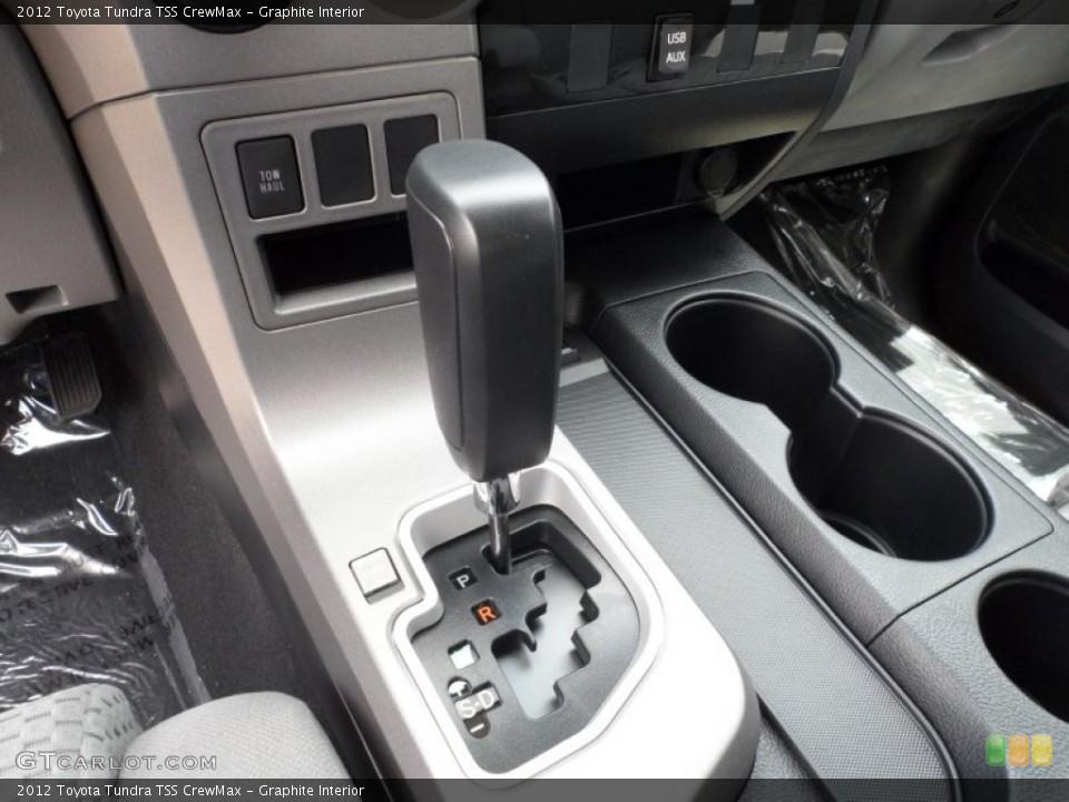 Graphite Interior Transmission for the 2012 Toyota Tundra TSS CrewMax #65673775