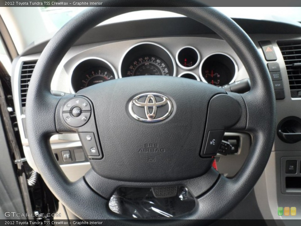 Graphite Interior Steering Wheel for the 2012 Toyota Tundra TSS CrewMax #65673778
