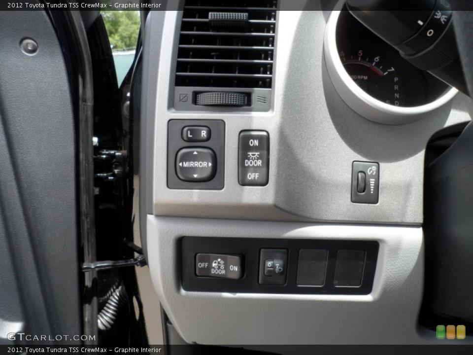 Graphite Interior Controls for the 2012 Toyota Tundra TSS CrewMax #65673784