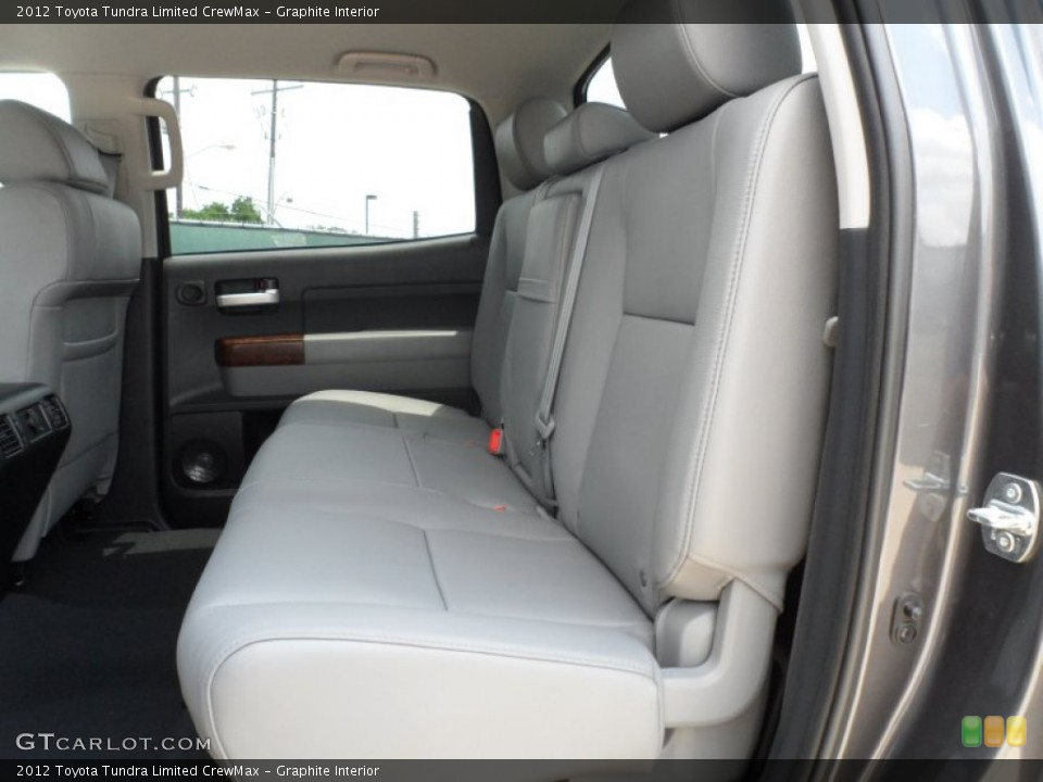 Graphite Interior Photo for the 2012 Toyota Tundra Limited CrewMax #65673850