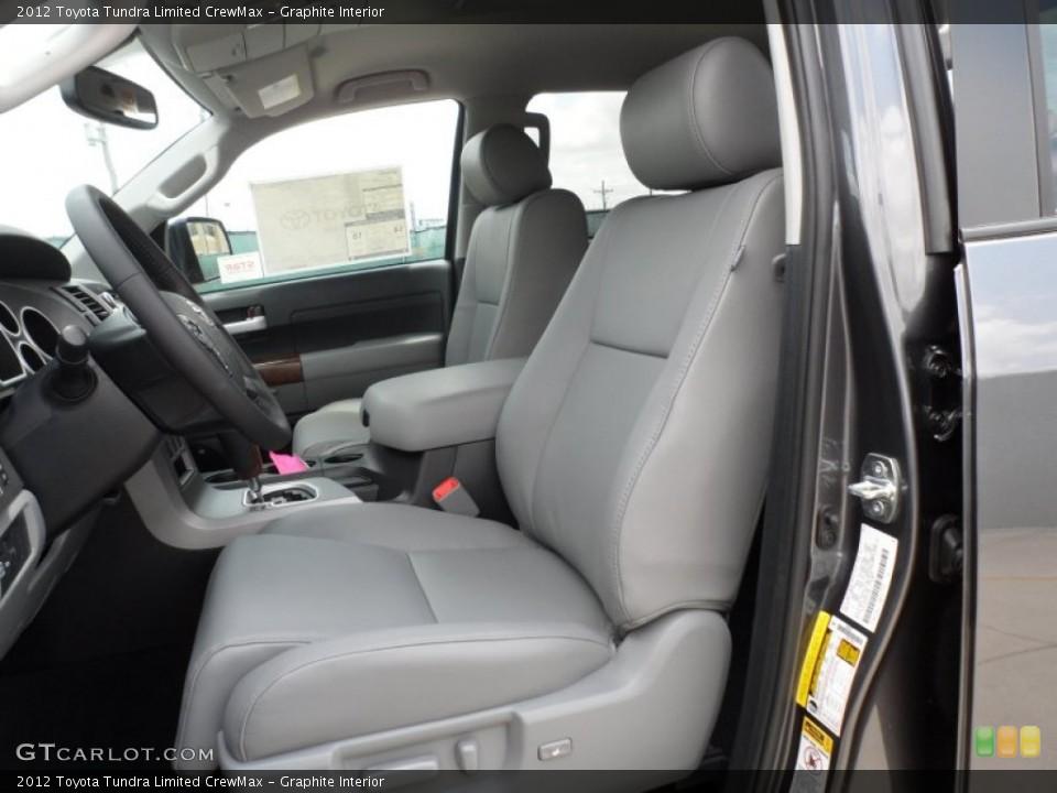 Graphite Interior Photo for the 2012 Toyota Tundra Limited CrewMax #65673859