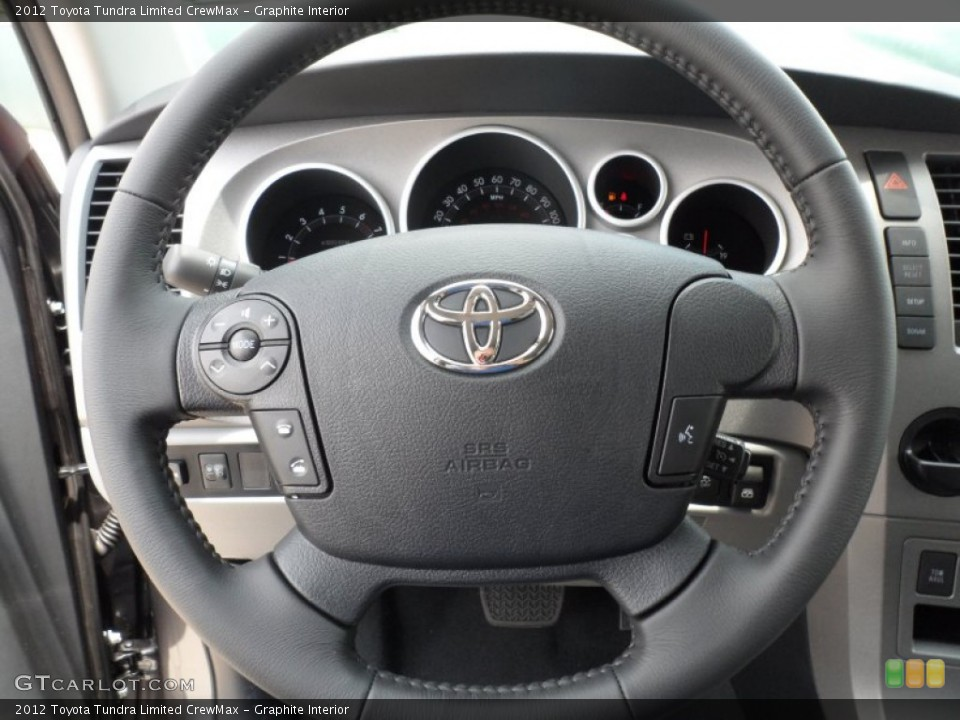 Graphite Interior Steering Wheel for the 2012 Toyota Tundra Limited CrewMax #65673880