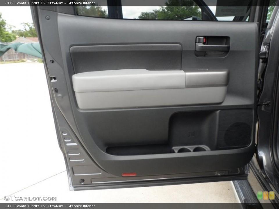 Graphite Interior Door Panel for the 2012 Toyota Tundra TSS CrewMax #65673952