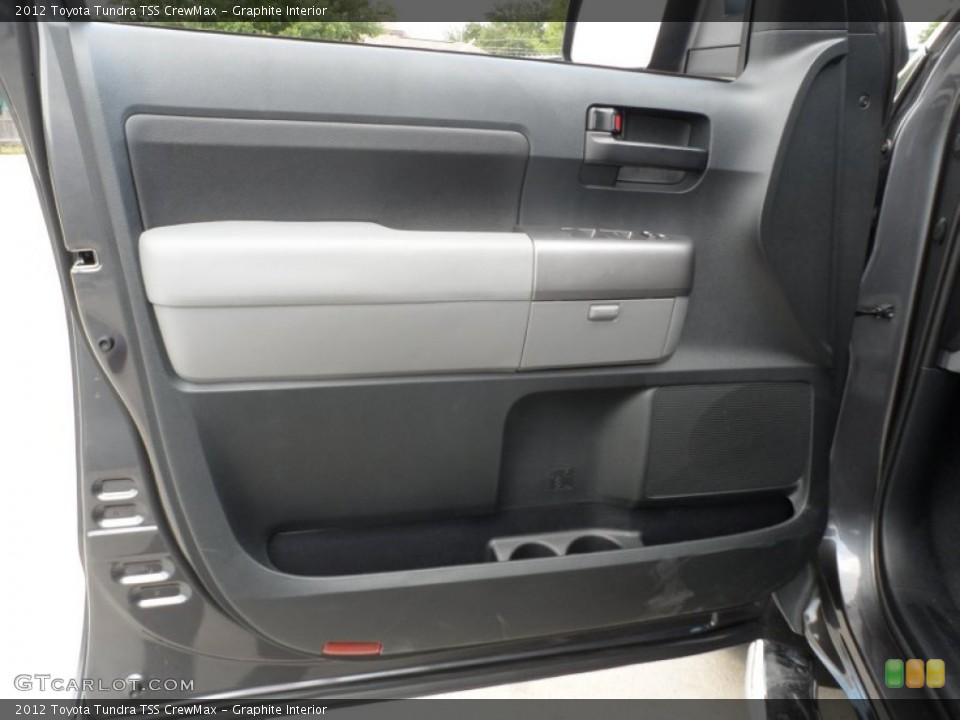 Graphite Interior Door Panel for the 2012 Toyota Tundra TSS CrewMax #65673958
