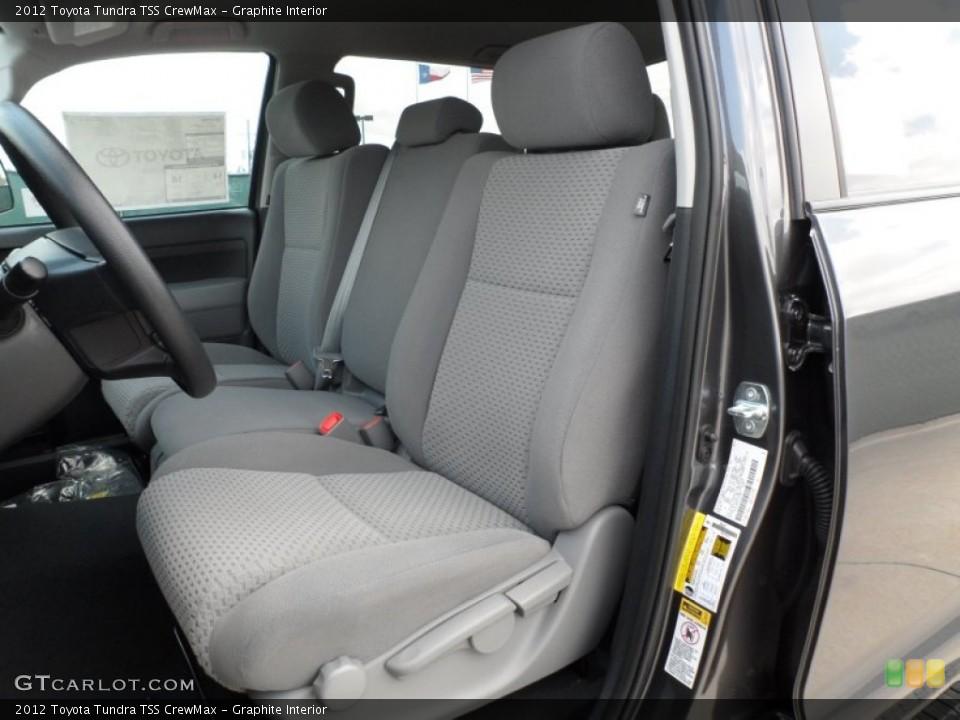 Graphite Interior Photo for the 2012 Toyota Tundra TSS CrewMax #65673964