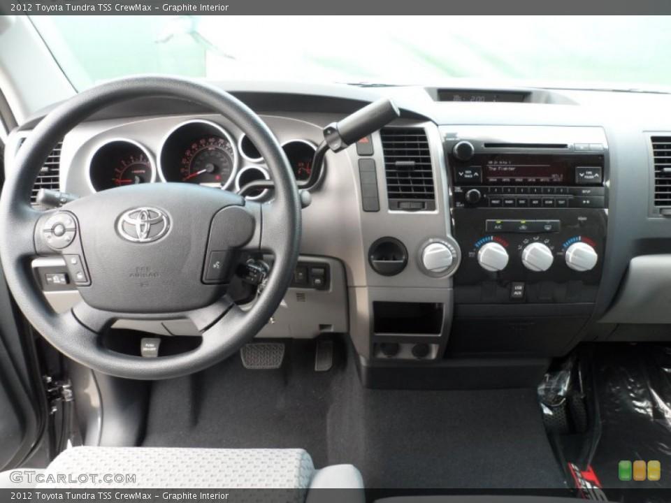Graphite Interior Dashboard for the 2012 Toyota Tundra TSS CrewMax #65673970